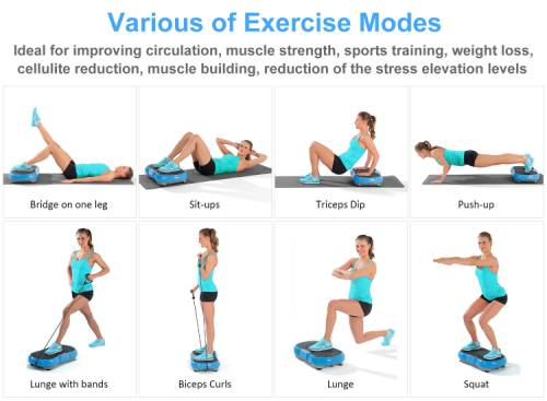iDeer Life Vibration Power Plate Review: High Stability and Security