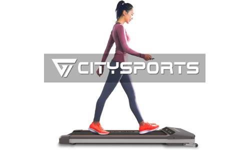CITYSPORTS Folding Motorised Treadmill